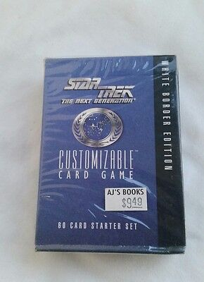 (5) Star Trek The Next Generation CCG 60 Card Starter Deck