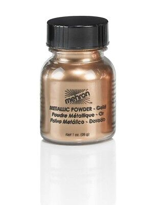 Mehron Metallic Powders - Gold (1 oz/28 gm)