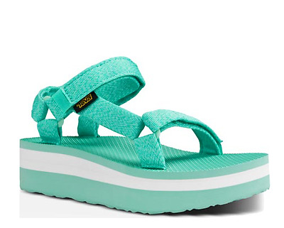 452b9b23c0f NIB TEVA FLATFORM Universal MARLED FLORIDA KEYS Sandals Shoes Womens ...