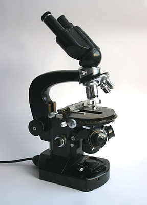 Carl Zeiss Jena Forschungs Mikroskop Lumipan microscope 4 Apochromate