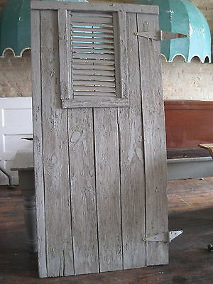 Outhouse  Barn Door Primitive Grungy Shabby Chic From A Farm