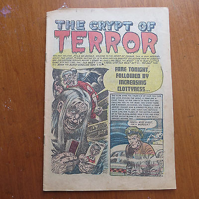 Tales from the Crypt #36  (Atlas) PR Vintage Golden Age 1952 - Coverless