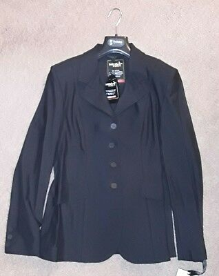 Tredstep Solo Pro Competition Coat Size 10, Black