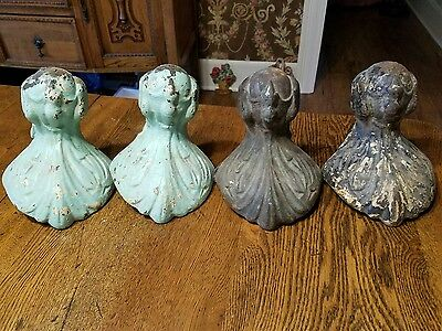 Vintage Cast Iron Claw and Ball feet For Bathtub, Lot of 4
