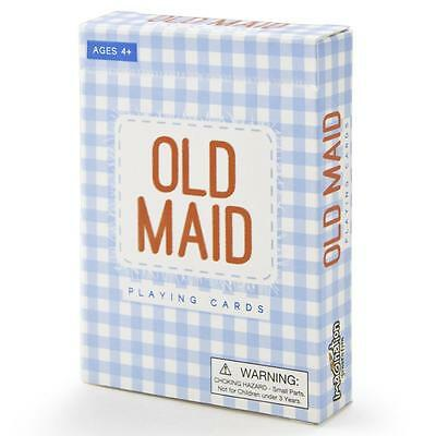 Old Maid Illustrated Card Game - Australia only