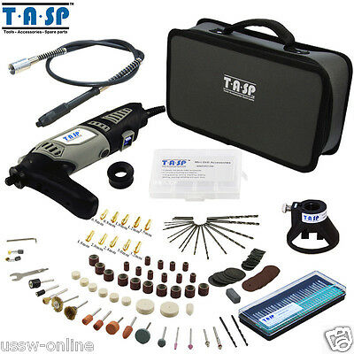 Dremel 170W Electric Grinder Rotary Power Tool Mini Drill Set with 175PC