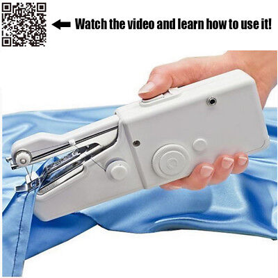 Quick Portable Mini Stitch Hand Held Handheld Electric Travel Sewing Machine New