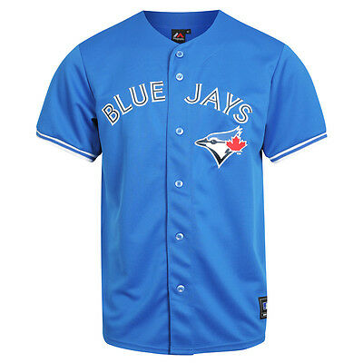 Majestic MLB Toronto Blue Jays Alternate Replica Jersey - Royal