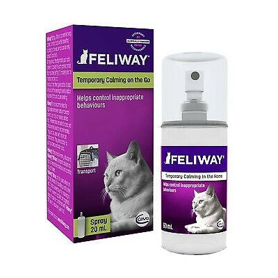 Feliway Pheromone Spray Cat Calming Spray 20ml *ULTRA FAST DELIVERY*
