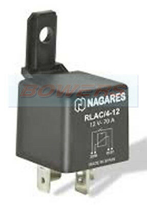 High Performance Hd Relay Rlac/4-12R Re2810.10 4 Pin 12V 70A With Resistor Multi