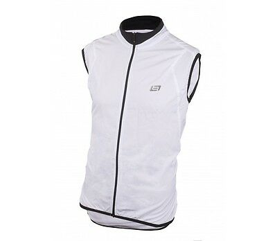 Bellwether MN Ultralight Cycling Vest - White - Lightweight Road / Cycling Vest