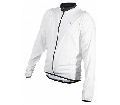 Bellwether MN Ultralight Cycling Jacket - White - Lightweight Jacket - Large