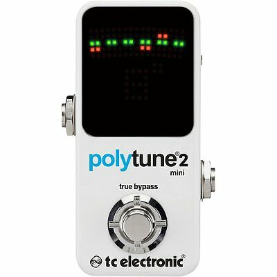 TC Electronic PolyTune Mini Polyphonic Tuning Pedal NEW + FREE 2DAY SHIPPING!