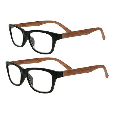 Large Geek Reading Glasses Vintage Retro Mens Womens Unisex +1 +1.5 +2 +2.5 +3.0