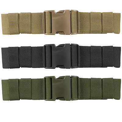Military Style Army Belt 50mm Heavy Duty Polyester Mil-Tec Airsoft Security
