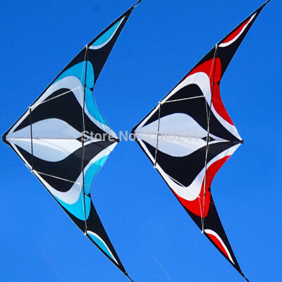 1.8m/70 inch Stunt Kite Dual-Line Control Outdoor Fun Sports Delta toys with fly
