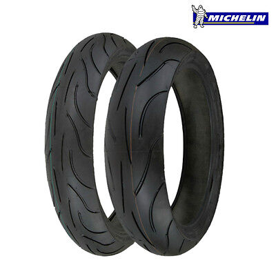 Michelin Pilot Power 120/70-17 180/55-17 ZR Pair BIMOTA DB 10 Motard 13-14