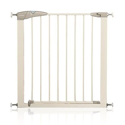 Lindam Sure Shut Axis Pressure Fit Safety Stair Gate 76 - 82 cm White New