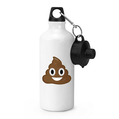 Poo Poop Emoji Sports Drinks Water Bottle
