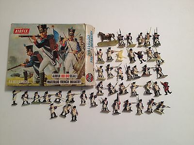 Airfix 01744 Waterloo French Infantry Serie Completa 45 Pezzi Con Scatola H0