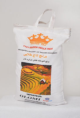 Basmati 1121 Reis Golden Sella 10kg - AKTION