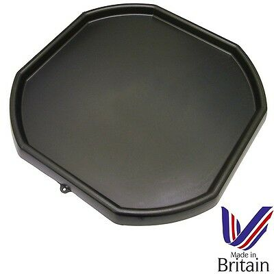 Black Plastic Large Mixing Tray Children Play Sand Water & Builders Equipment