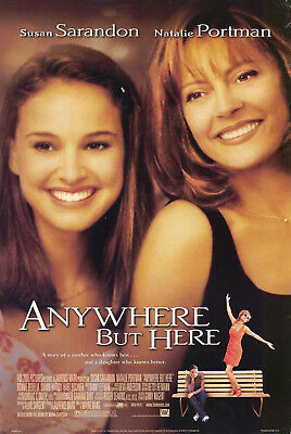Anywhere But Here (1999) Original Movie Poster  -  Rolled