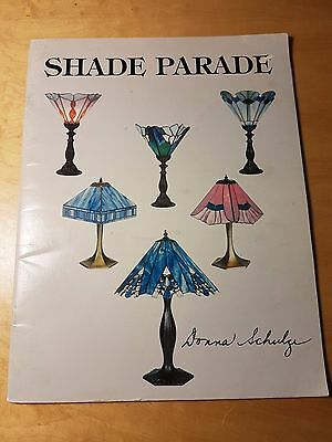 "Stained Glass Patterns ""Shade Parade"" Lampshades 23 Patterns by Donna Schulze"