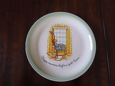 Vintage Holly Hobbie Collector Edition China Plate U.S.A.