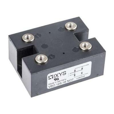 1 x IXYS VBO125-16NO7, Bridge Rectifier Module, 124A 1600V, 4-Pin PWS C