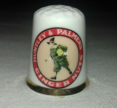 Finsbury Thimble - Huntley and Palmer's Ginger Nuts