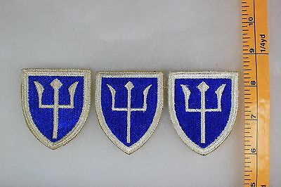 US WW2 Army Cut Edge Snowy 97th Infantry Division 3 Patch Lot OA169
