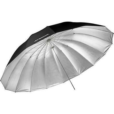 Westcott  7-Feet Silver with Black Cover Parabolic Umbrella 4633
