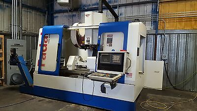 5 Axis FADAL 4525 with Nikken 5AX350ZA Rotary Table