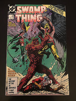 Swamp Thing (1982 2nd Series) #58 VF Very Fine DC Comics