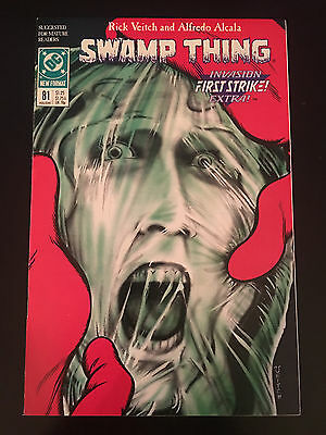 Swamp Thing (1982 2nd Series) #81 VF Very Fine DC Comics