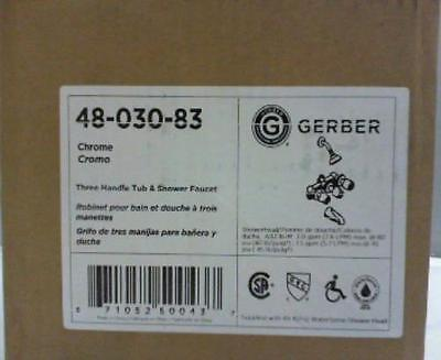 Gerber 48-720-83 - Gerber Classics Two Handle Tub and Shower Faucet