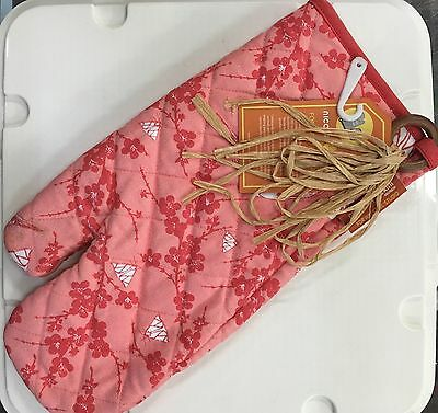 NEW 2 Oven GloveS Waratah by Nicola Gerini -[ set of 2 ]