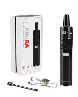 Atmos Kiln RA Kit and 2 Extra RA Chambers - Black - Authentic and Factory Sealed