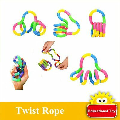 Stress Relieves Fidget Fiddle Toy ADHD Autism Spin Tangle Adult Children Toys