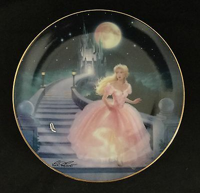 AS NEW Franklin Mint plate - The Magic of Cinderella- fine porcelain
