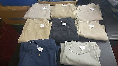 Men's Lot of  8 Casual Pants,Dress  Various  Sizes Brands,Styles For RESALE