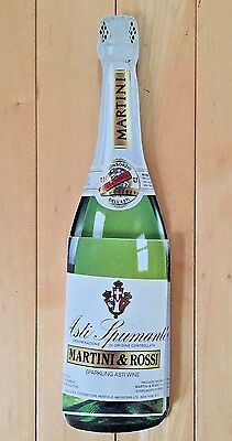 Vintage Martini Rossi Asti Spumante Wine Advertising Bottle Notepad Collectible