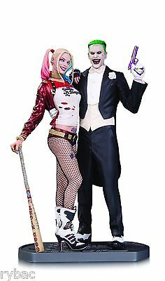 Suicide Squad Movie Joker & Harley Quinn Statue - New/boxed - In Stock
