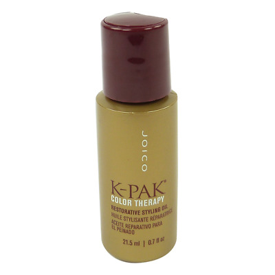 Joico K-Pak Color Therapy Restorative Styling Oil - 21.5ml - Hair Care Treatment