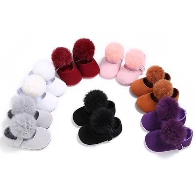 0-18M Baby Girl Autumn Soft Sole Crib Shoes Cotton Sneaker Casual Princess Shoes