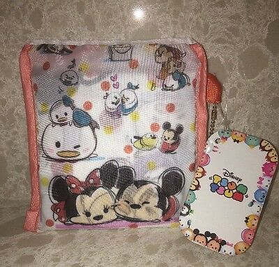 Japan Disney Store TSUM TSUM Mickey & Friends Eco Bag Shopping Bag