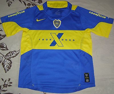 Camiseta Boca Juniors Centenary 1905 x 2005 home shirt children's jersey