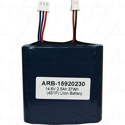 14.8V 2.5Ah Replacement Battery Compatible w/ 15.920.230 15.920.250 DLG ICR17670