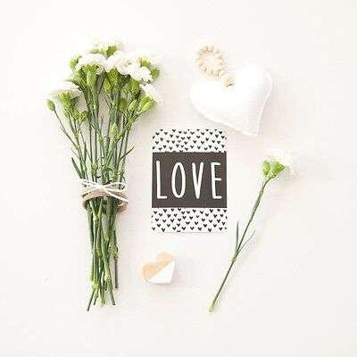 Flash Cards - Monochrome Photo Props - Flatlay Photo Cards - Instagram Cards